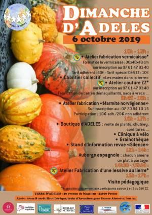 Affiche DDA du 6 octobre 2019