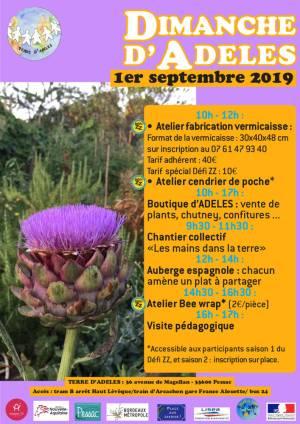 Affiche DDA du 1er septembre 2019